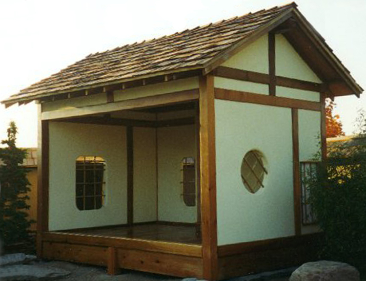 Welcome to fleming landscape gardens gallery for Japanese style garden buildings